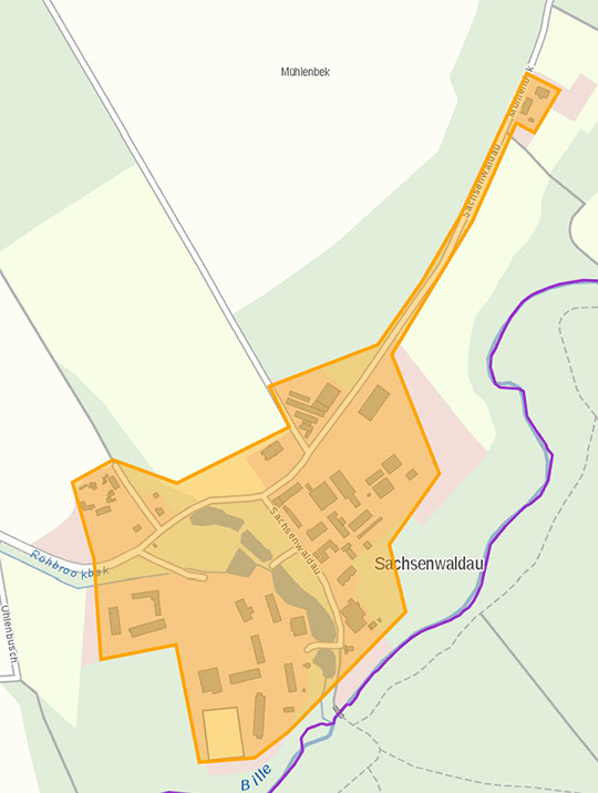 Reinbek Sachsenwaldau